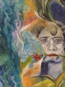「怨念は海を越えて」山久瀬洋二・画
