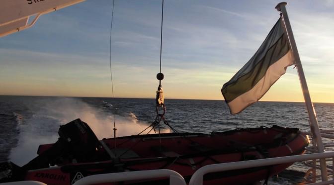 ヘルシンキからエストニアへの高速船