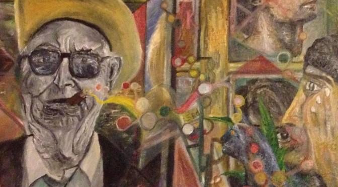 「アメリカの伝統的価値…?」山久瀬洋二・画