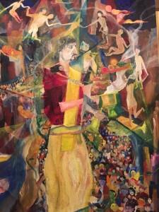 「異なる宗教や考え方に寛容に」山久瀬洋二・画