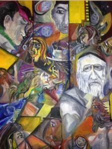 「大国の論理…」山久瀬洋二・画