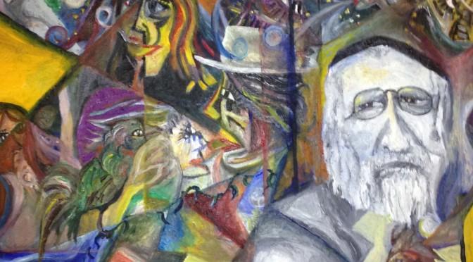 「人々は融和できるか」山久瀬洋二・画