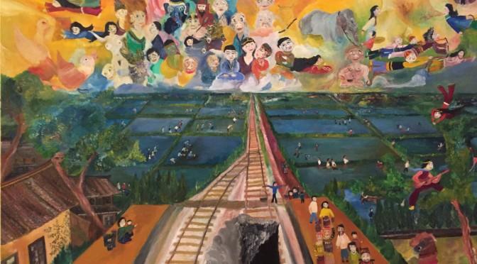 「多文化共生?」山久瀬洋二・画