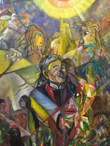 「まずは想像力、そして創造力」山久瀬洋二・画