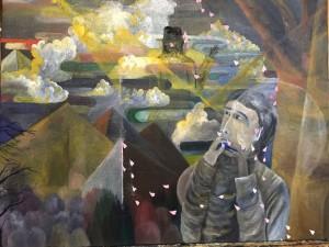 「つながりと平和を求めて」山久瀬洋二・画