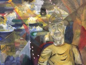 「アメリカ人の価値観とは」山久瀬洋二・画
