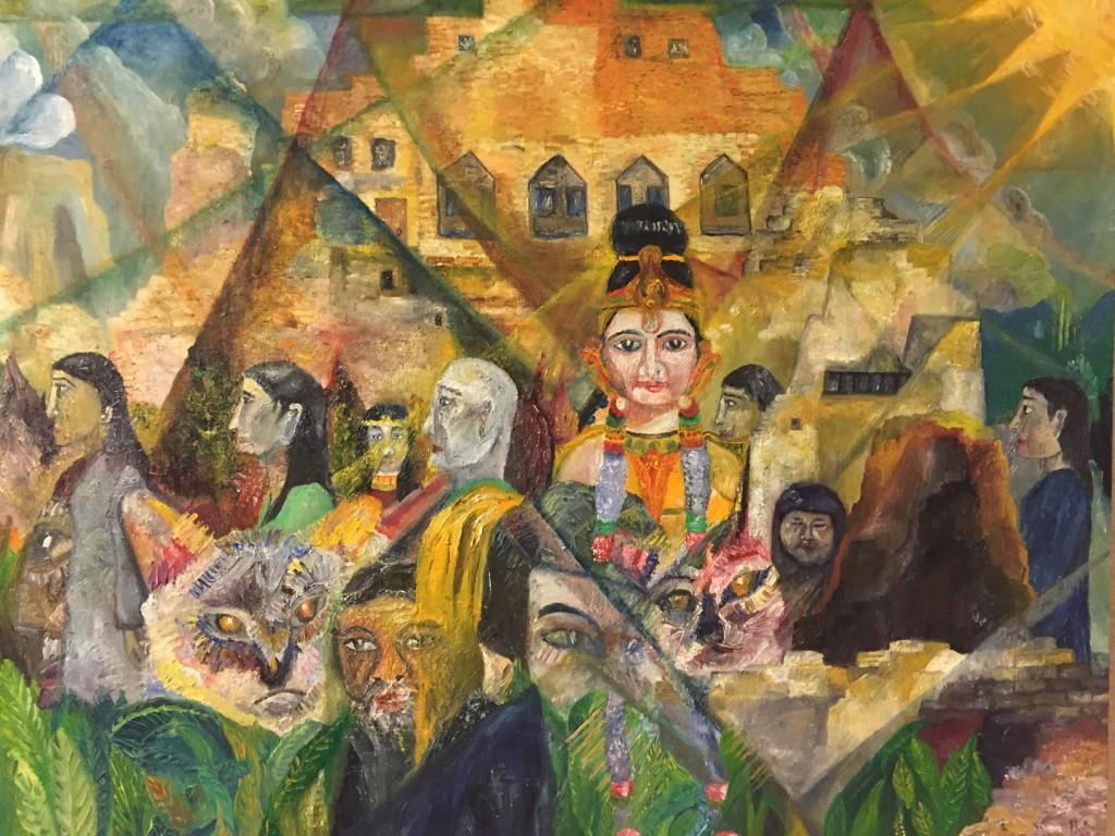 「多様な人びとと」山久瀬洋二・画
